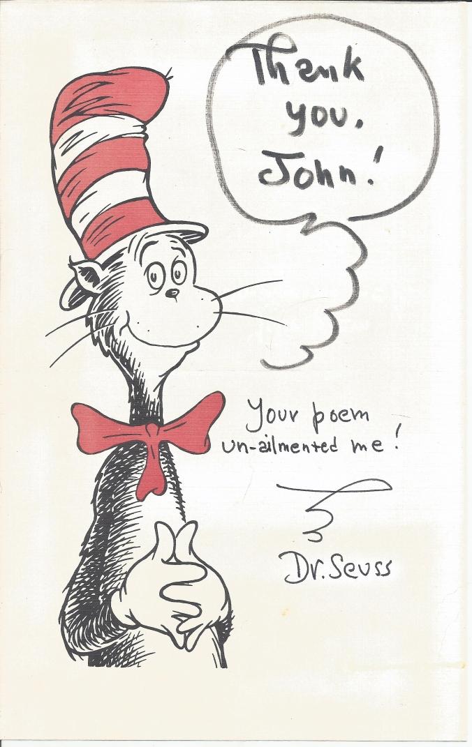 Dr Seuss Card